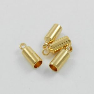 3mm-glue-on-kumihimo-end-caps-with-loop-gold-plated