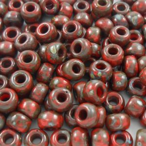 miyuki-60-seed-beads-opaque-red-picasso