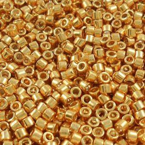 miyuki-110-delica-beads-galvanized-yellow-gold